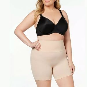 Spanx 1X Everyday Shaping Panties Mid Thigh Shorts